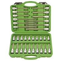 Jbm 52605 - Pack de 26 puntas para tornillos de 12 cantos